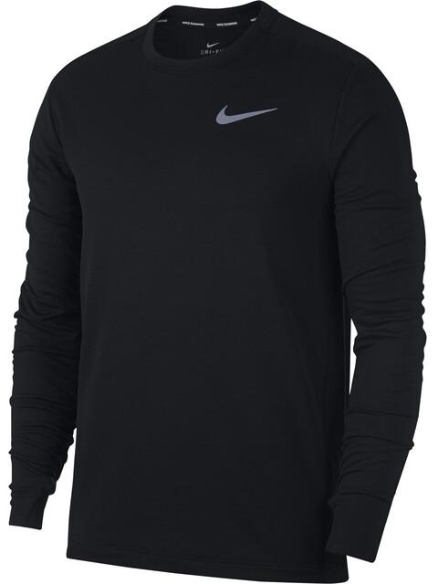 Nike Therma Sphere Element Løbetrøje langærmet Herrer sort